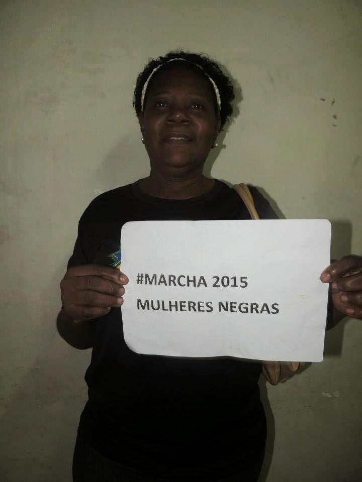 Organização da Marcha da Mulheres Negras -2015