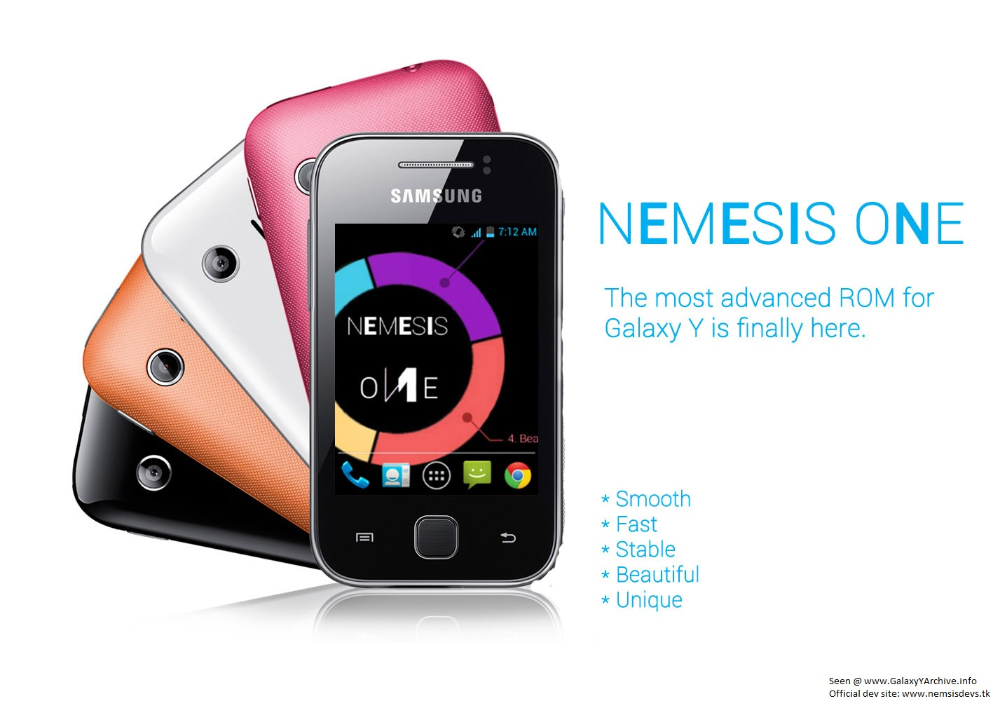 ROM] Nemesis One and Nemesis One HD for Samsung Galaxy Y (GT-S5360)