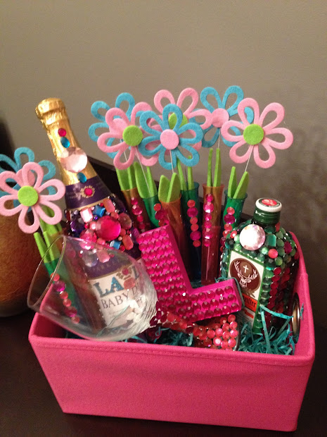 21st Birthday Gift Basket Ideas For Her