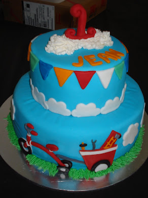 Tricycle Cake