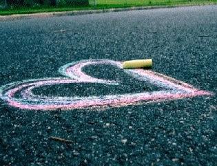 dessiner un coeur pour declaration d'amour