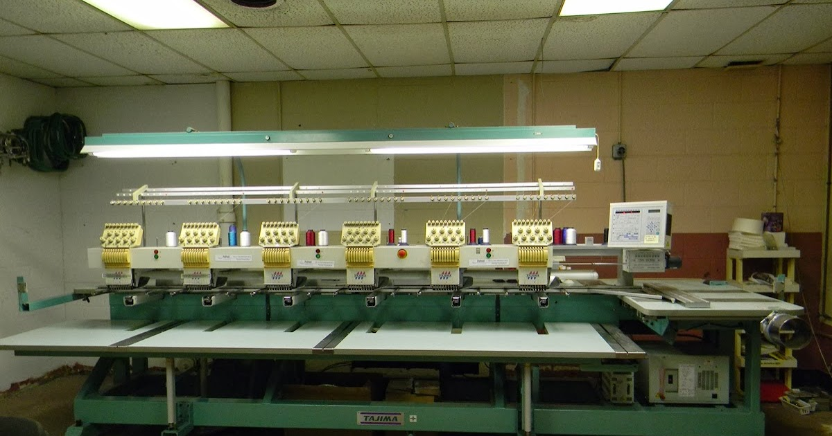 6 needle embroidery machine for sale