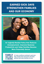New Brochure from Family Values at Work: Earned Sick Days Strengthen Families and Our Economy