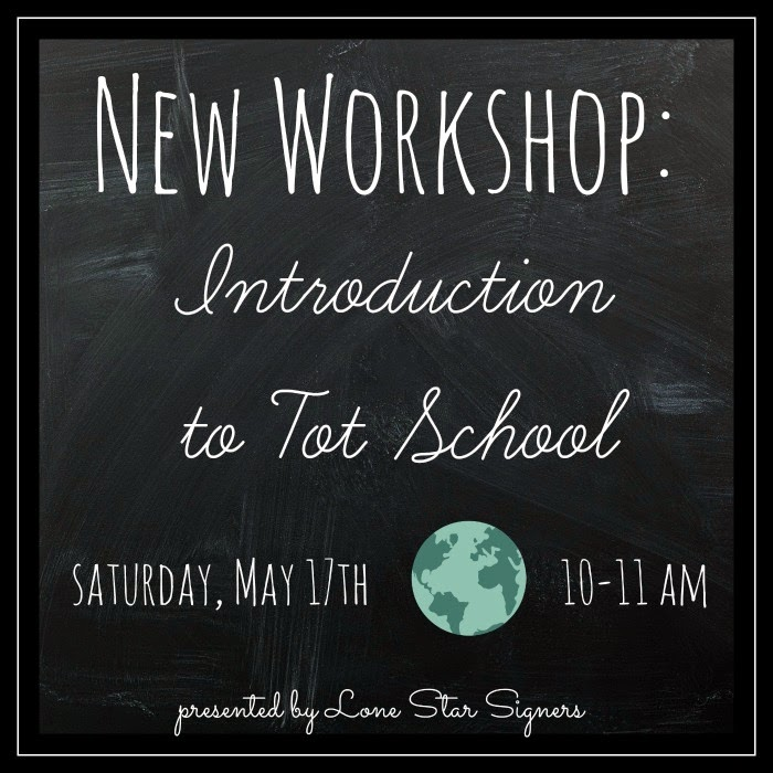 Introduction to Tot School Workshop | San Antonio, Texas