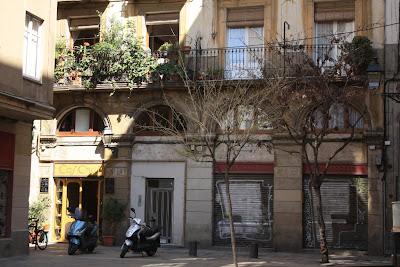 Caj Chai tea house in Barcelona