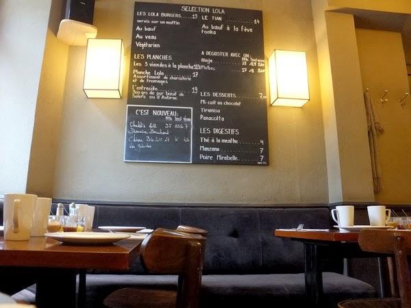 Paris Montmartre brunch restaurant casa lola
