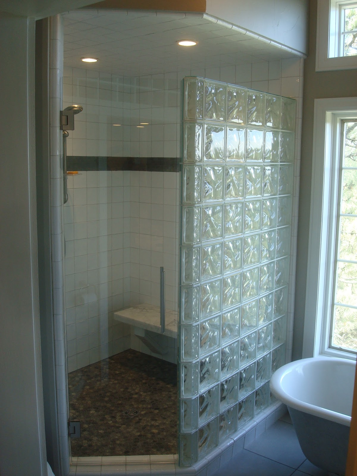 HYDRO-BLOK--The BETTER Shower System Is Here!! | Seattle Glass Block
