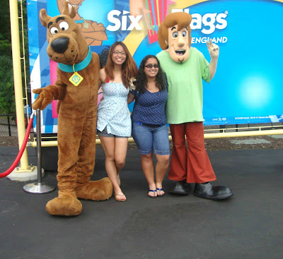 Six Flags Scooby And Shabby