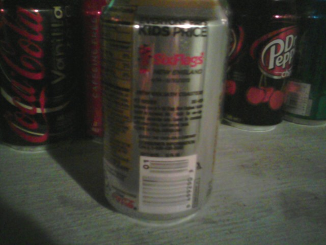 Six flags new england coupons coke cans