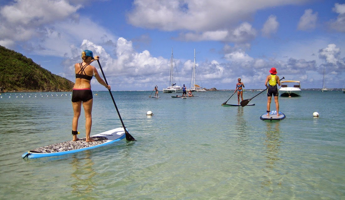 SUP Paddling in Paradise
