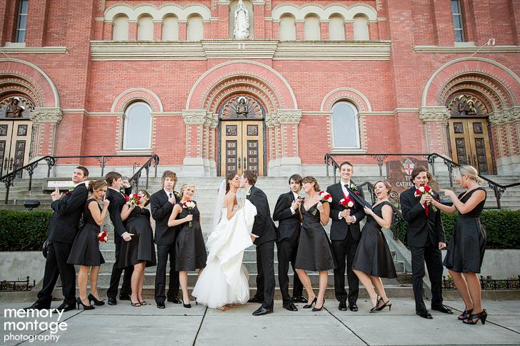 Spokane Club wedding photography