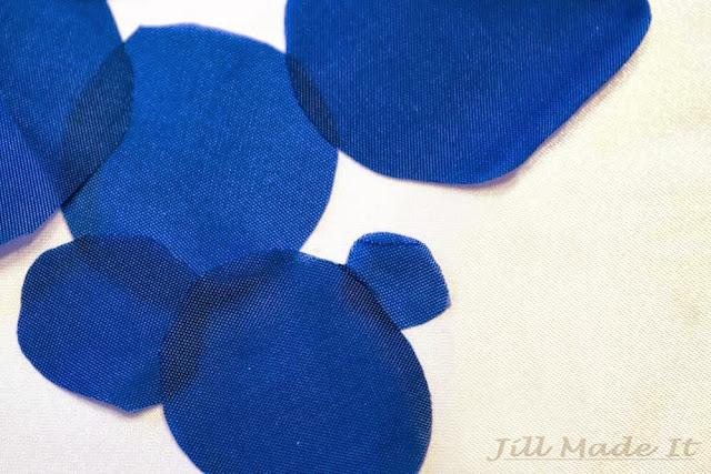 Several Fabric Circles