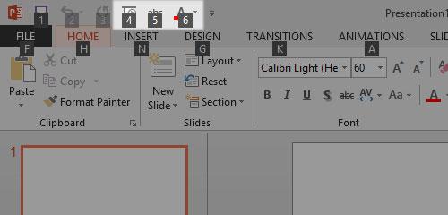 Tạo phím tắt hữu dụng cho Office 2013 7