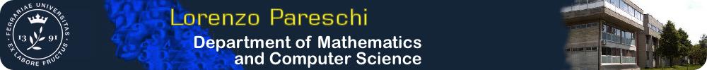 Lorenzo Pareschi Home Page