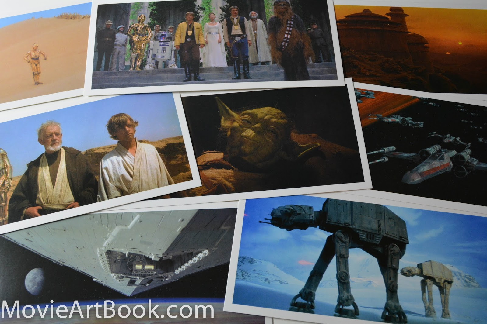 star wars frames 100 postcards review