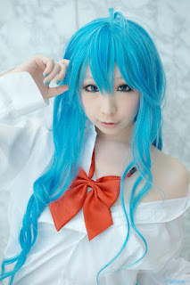 Miiko cosplay as Touwa Erio from Denpa Onna to Seishun Otoko