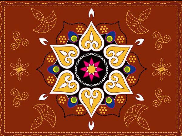 30 Simple And Graceful Rangoli Designs for festive season