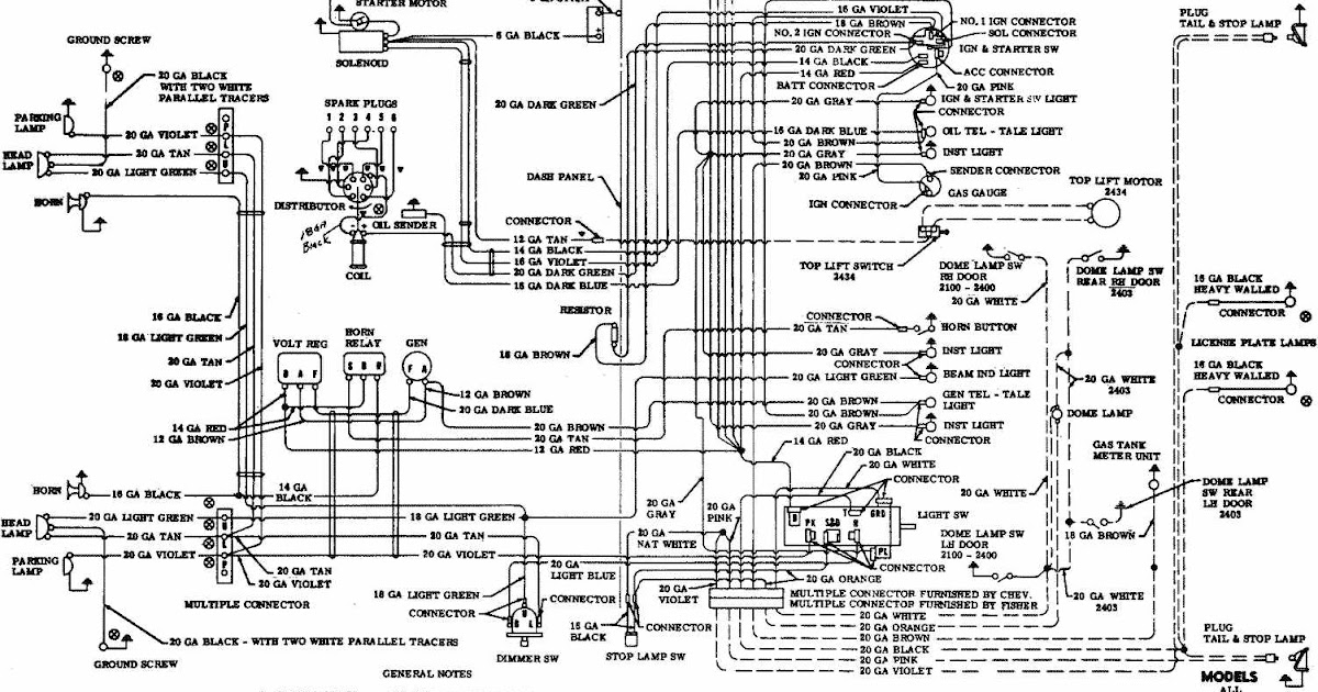 1955 chevrolet horn relay wiring diagram
