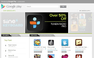 Android Market is now Google Play