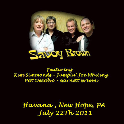 Savoy Brown - Havana - New Hope PA - July 22th 2011