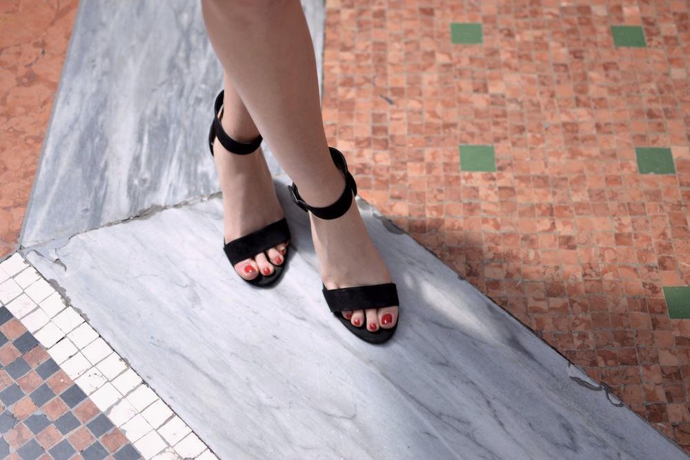 Zara sandal heels