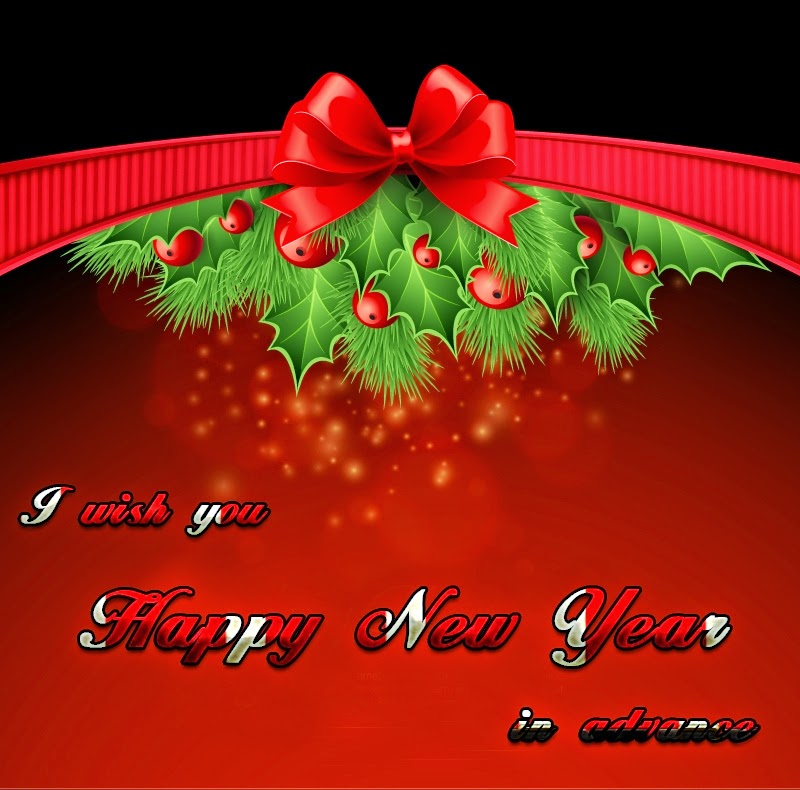 Happy New Year Advance Wishes Greeting Cards 2015