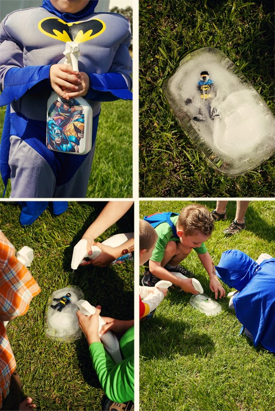Save Batman from Mr Freeze Ice Block Superhero party Game