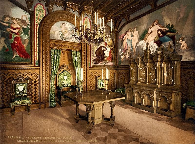 neuschwanstein castle neuschwanstein castle rooms. Black Bedroom Furniture Sets. Home Design Ideas