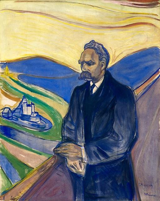 Friedrich Nietzsche by Edvard Munch (1906)