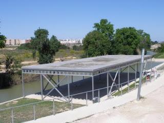 embarcadero   Valdefierro Canal Imperial de Aragón Zaragoza