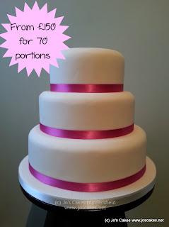 jo 39 s cakes simple 3 tier wedding cake