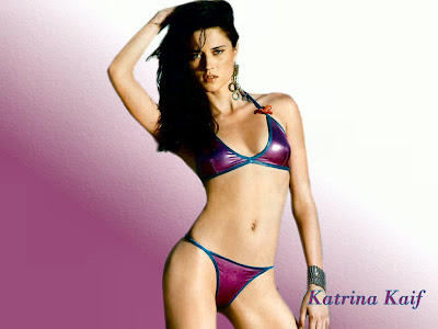 Katrina Kaif in Bikini Wallpapers