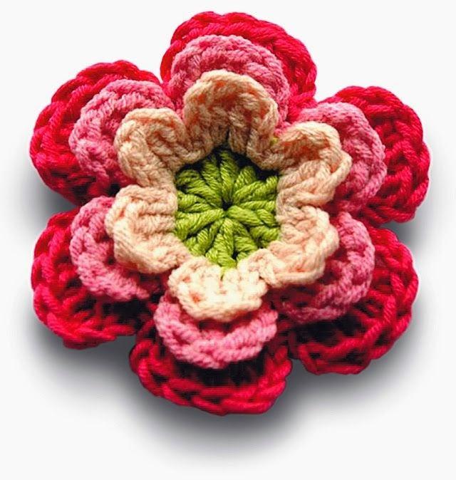 http://freecrochetpatterns3808.blogspot.com/2014/01/free-crochet-patterns-flowers.html