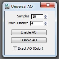 Universal AO interface