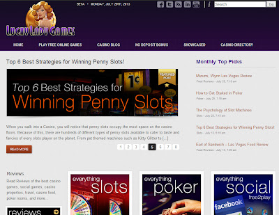 Lucky Lady Games Casino Blog