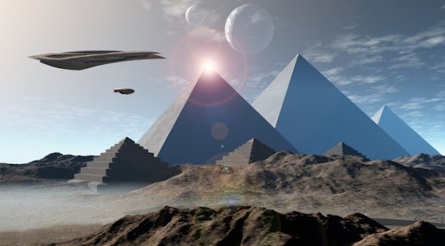 Revealing Documentary Tells How Ancient Aliens Helped to Build Earth's Pyramids