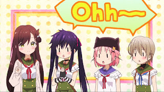 Yuri, Kurumi, Yuki and Miki
