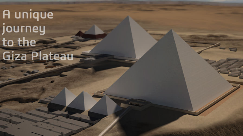 Explore Giza Pyramids in 3D