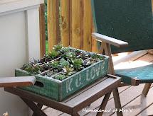 Humblenest Of . Repurpose Vintage Soda Crate