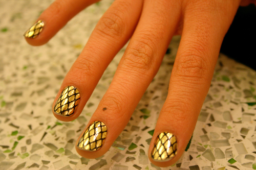 Beauty Best Nail Art Minx Nails Designs Hot Nail Trend For 2011