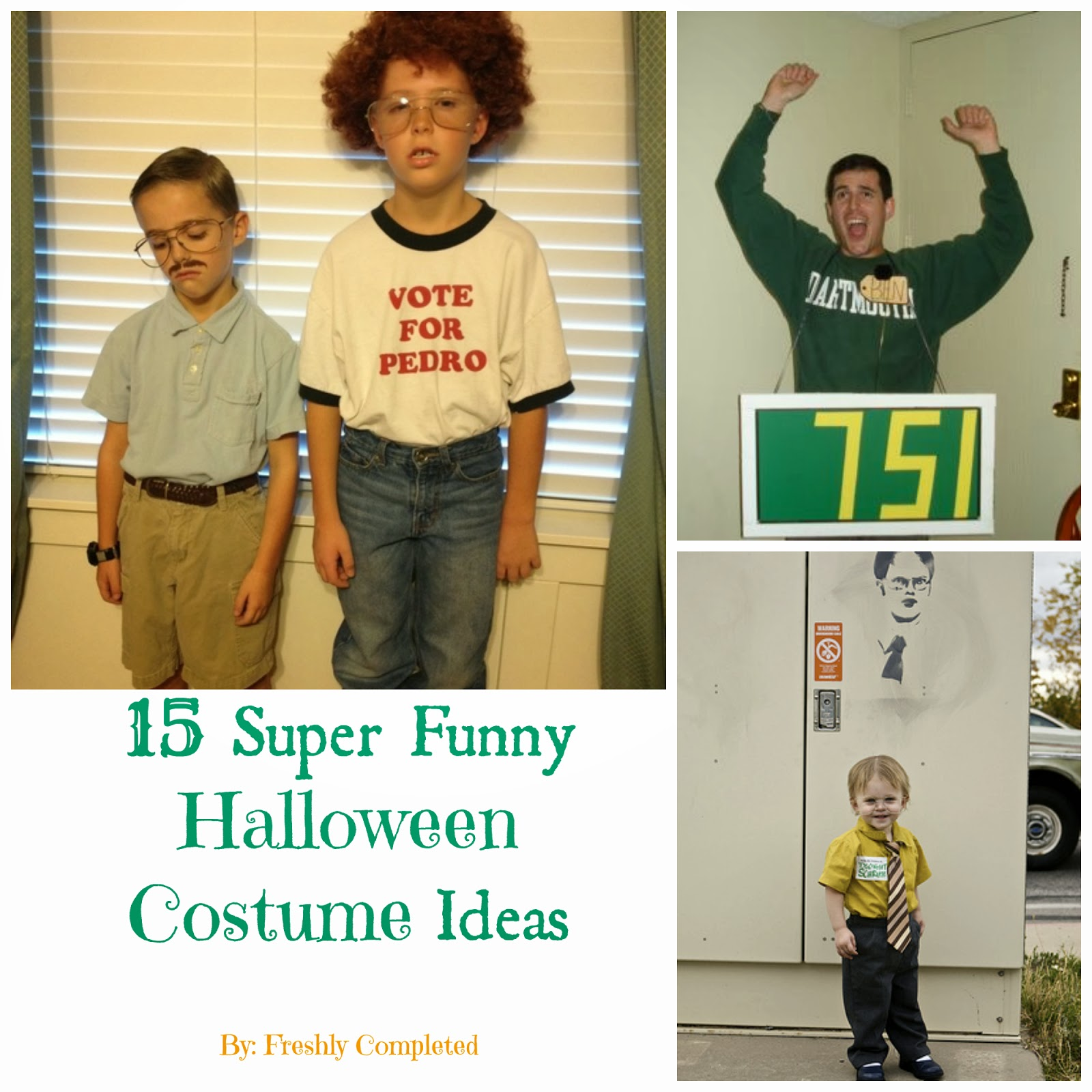 Freshly Completed: Funny Halloween Costume Ideas-- Round UP.