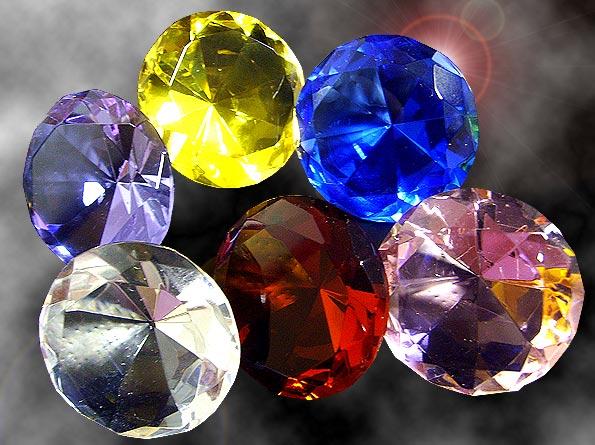 Как сделать камни из стекла 446