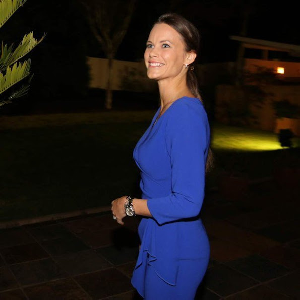 Princess Sofia Hellqvist of Sweden is in Pretoria, South Africa for the Global Child Forum.