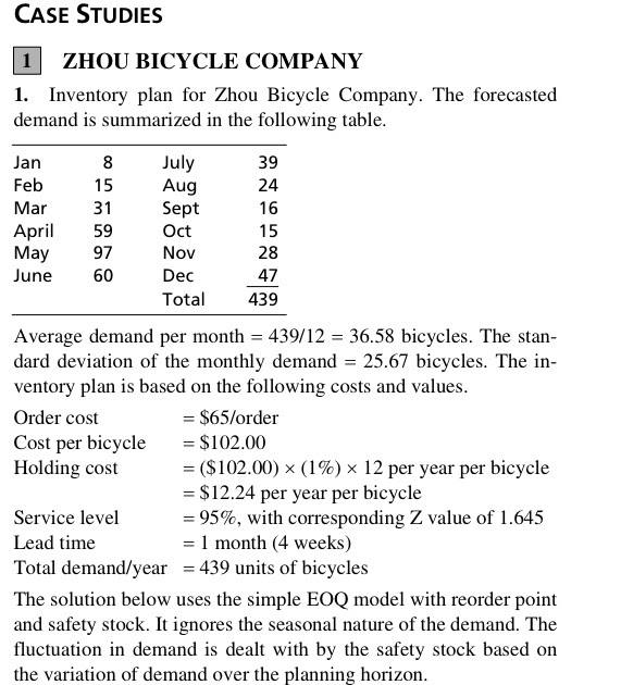 zhou bicycle case study The hangzhou public bicycle system has more than one thousand service spots in town, citizens and visitors can conveniently rent one and getting around downtown area.