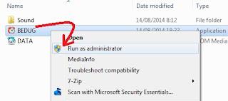 gambar cara install aplikasi bel