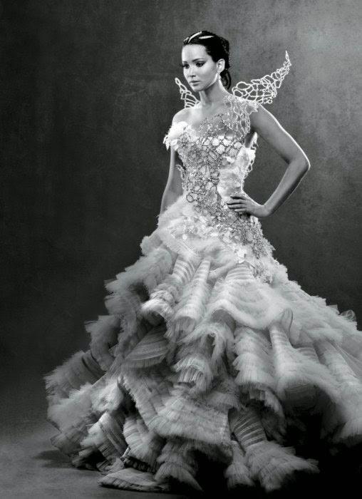 mis vestidos de novia: novias de cine: katniss everdeen (los juegos