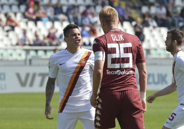 Torino vs AS Roma Serie A Italian