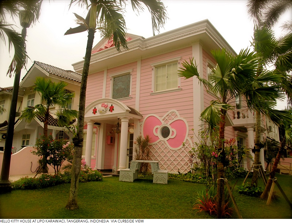 Hello Kitty House Hamptons 45degreesdesign