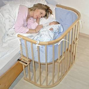 Bassinet Attached To Bed2