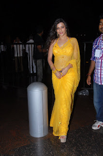 Telugu+actress+Madhurima+Yellow+Saree003 Telugu Actress Madhurima in Yellow Saree Photo Gallery